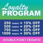 Cannabis City Loyalty Point Program