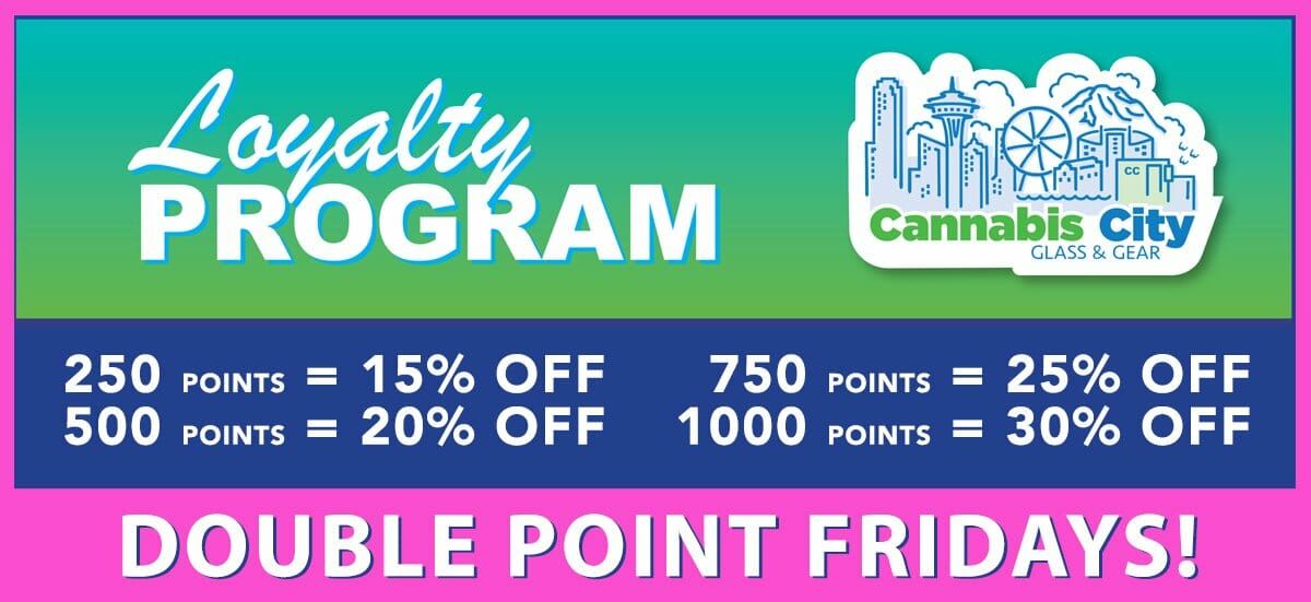cannabis city loyalty program