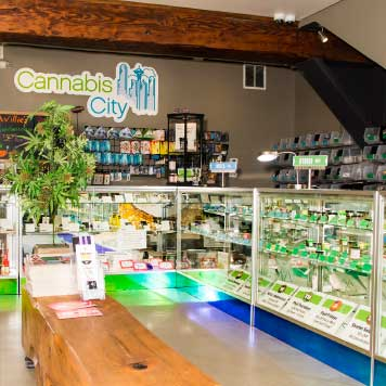 Cannabis City Seattle's Original Pot Shop. 10% Discounts.
