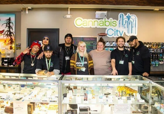 Dedicated Team at Cannabis City