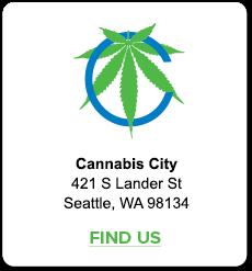 Find Us! Cannabis City Seattle's Original Pot Shop.