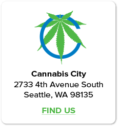 Find Us! Cannabis City Seattle's Original Pot Shop.