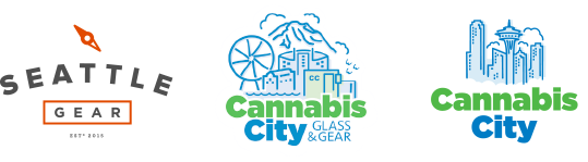 Seattle Gear, Cannabis City and Cannabis City Glass and Gear and Cannabis City